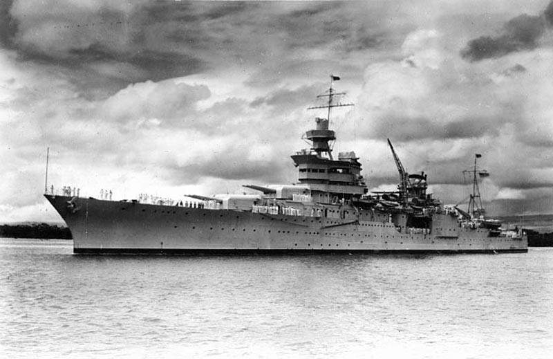 Тяжёлый крейсер «USS Indianapolis»