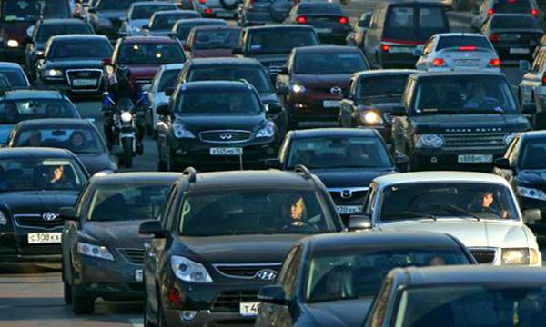 Пробка на Каширском шоссе держится до сих пор