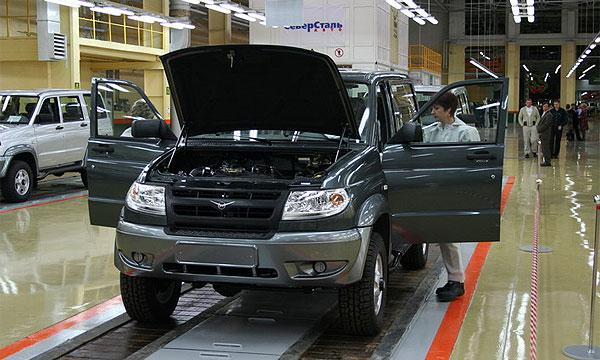 УАЗ возобновляет производство автомобилей