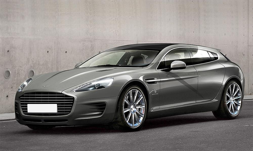 Итальянская компания Bertone переделала Aston Martin Rapide в универсал