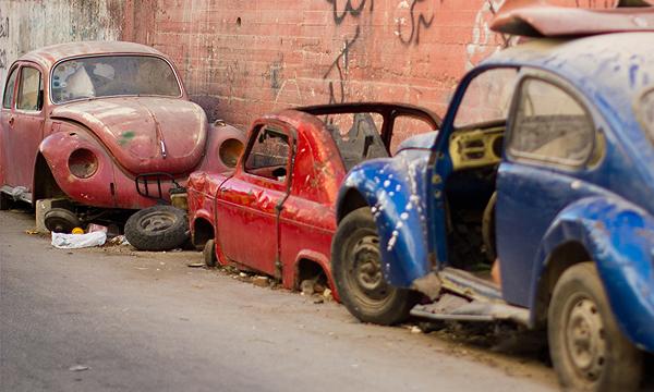 В Москве автохлам утилизируют за четыре месяца
