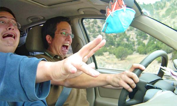 Стресс от вождения приравняли к прыжку с парашютом