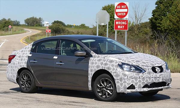 Nissan привезет на автосалон в Лос-Анджелесе обновленный седан Sentra