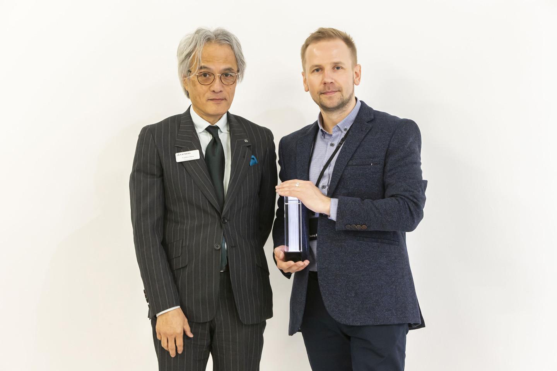 Представитель Lexus и Дмитрий Балашов