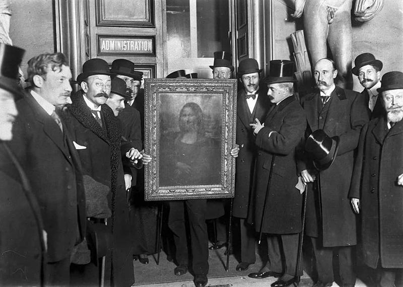 Возвращение «Моны Лизы» в 1913 году