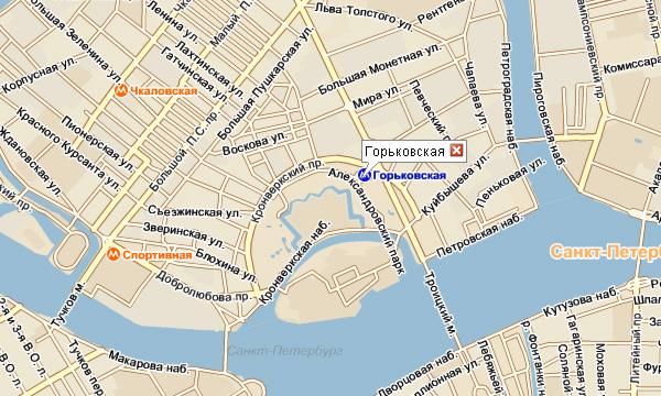 Станция Горьковская в Петербурге закрылась на 14 месяцев