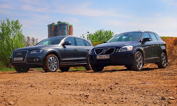 Цена вопроса: Audi Q5 против Volvo XC60