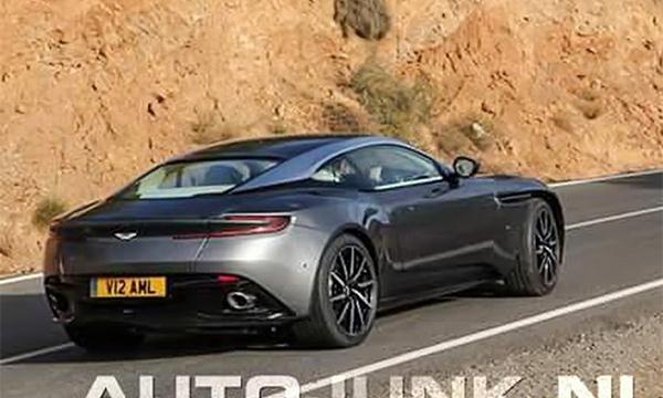 Спорткар Aston Martin DB11 впервые замечен без камуфляжа