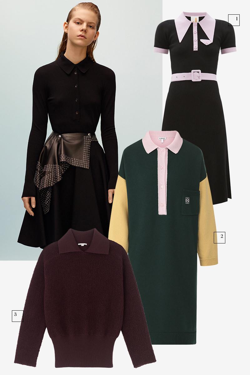 Alaïa  1) JoosTricot (Matches Fashion), 36 760 руб. 2) Loewe (ЦУМ), 94 250 руб. 3) COS, 6590 руб.