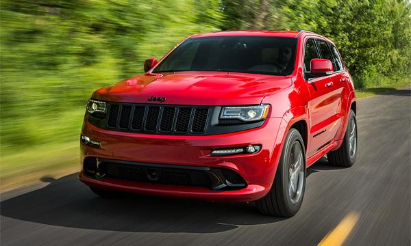 Jeep представил «заряженный» Grand Cherokee SRT 2015