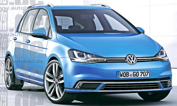Новый Volkswgen Golf Plus покажут через год
