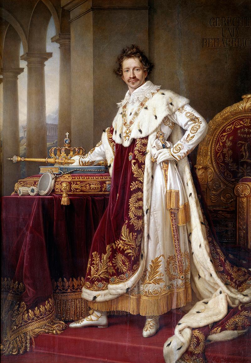 Портрет Людвига I Баварии,Иосиф КарлСтилер
