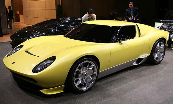 Суперзвезда автошоу Lamborghini Miura Concept