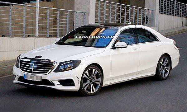 Mercedes-Benz S-Class заметили без камуфляжа