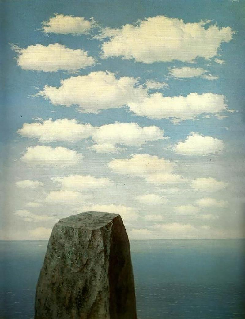 Рене Магритт. «Происхождение языка», 1953