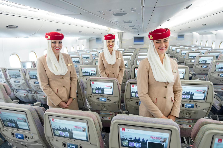 Emirates, экономкласс