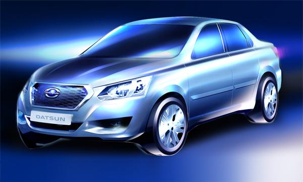 Datsun представит модель для России 4 апреля