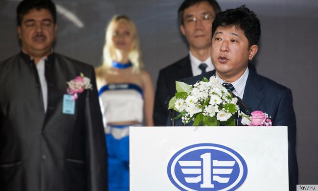 Вице-президент компании FAW Ян Фэн рассказал о качестве китайских машин