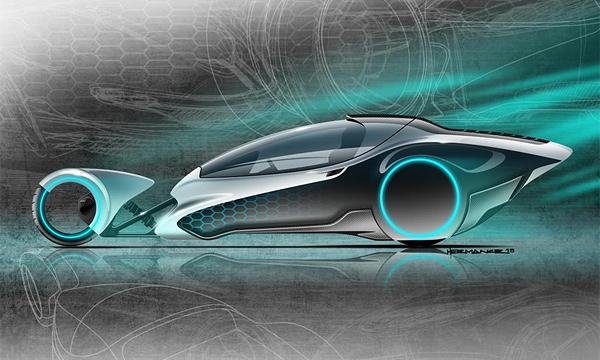 Компания New Davis Motorcar создаст трехколесный спорткар
