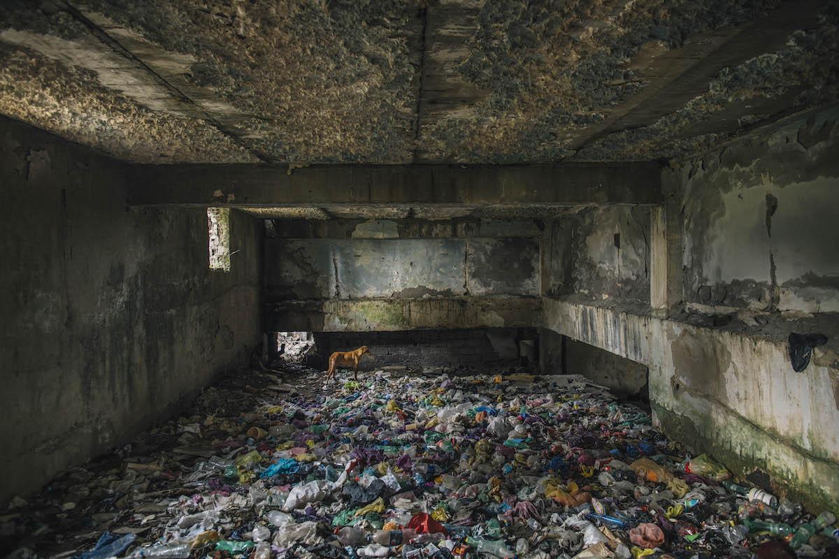 Заброшенный советский санаторий в городе Цхалтубо, Грузия. Категория«Общественные здания»