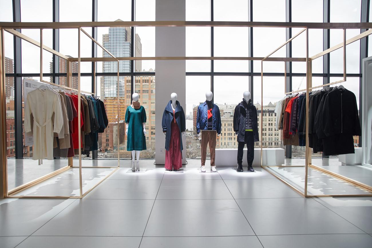 Коллекция мужской и женской одежды Uniqlo в концепции Lifewear, сезон осень—зима 2017/18