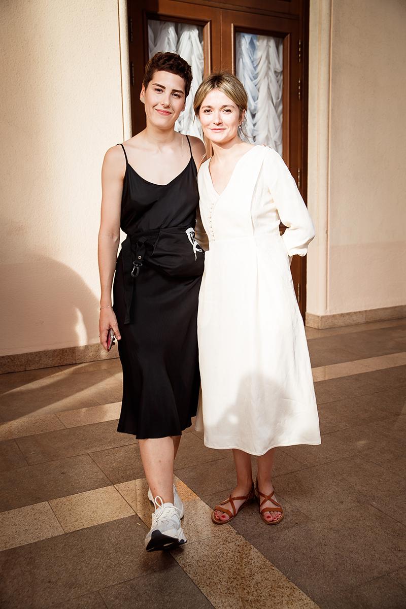 Ирина Горбачева и Надежда Михалкова