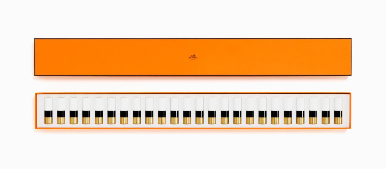 Коллекция помад для губ Фортепиано (24 цвета), Hermès