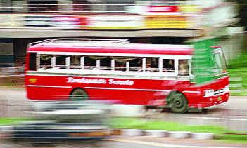 В восточной Малайзии автобусы перевели на биотопливо