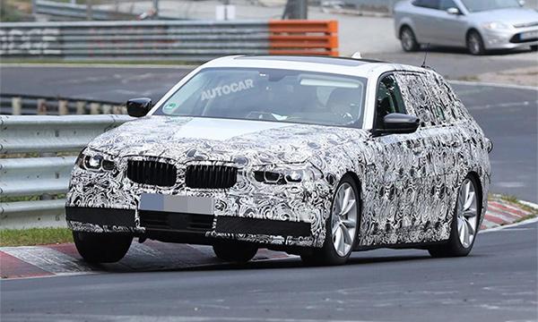 Универсал BMW 5-Series Touring поступит в продажу в 2107 году