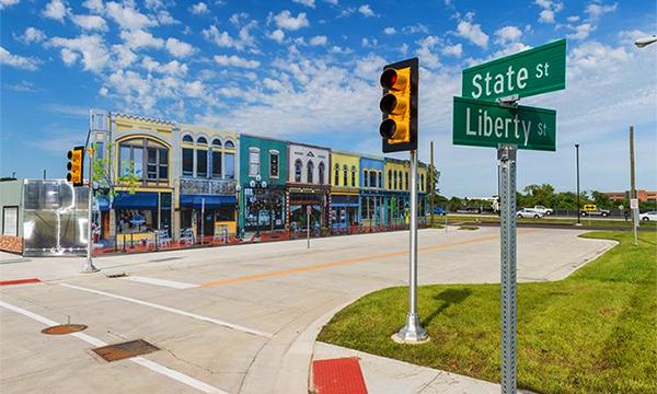 В США построили город для тестирования беспилотных автомобилей