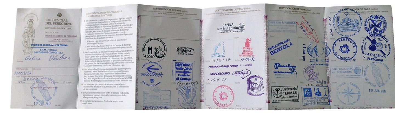 Свои печати для паспорта-креденсиаля есть у паломнических приютов и гостиниц, храмов и кафе