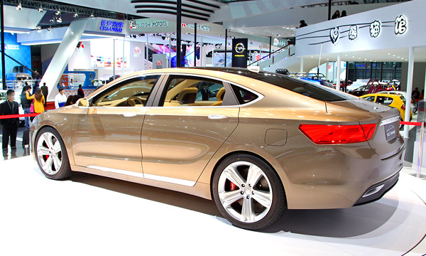 Geely создала конкурента Audi A6