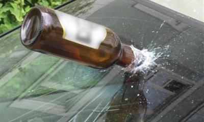 В автомобиль Сергея Собянина бросили бутылку
