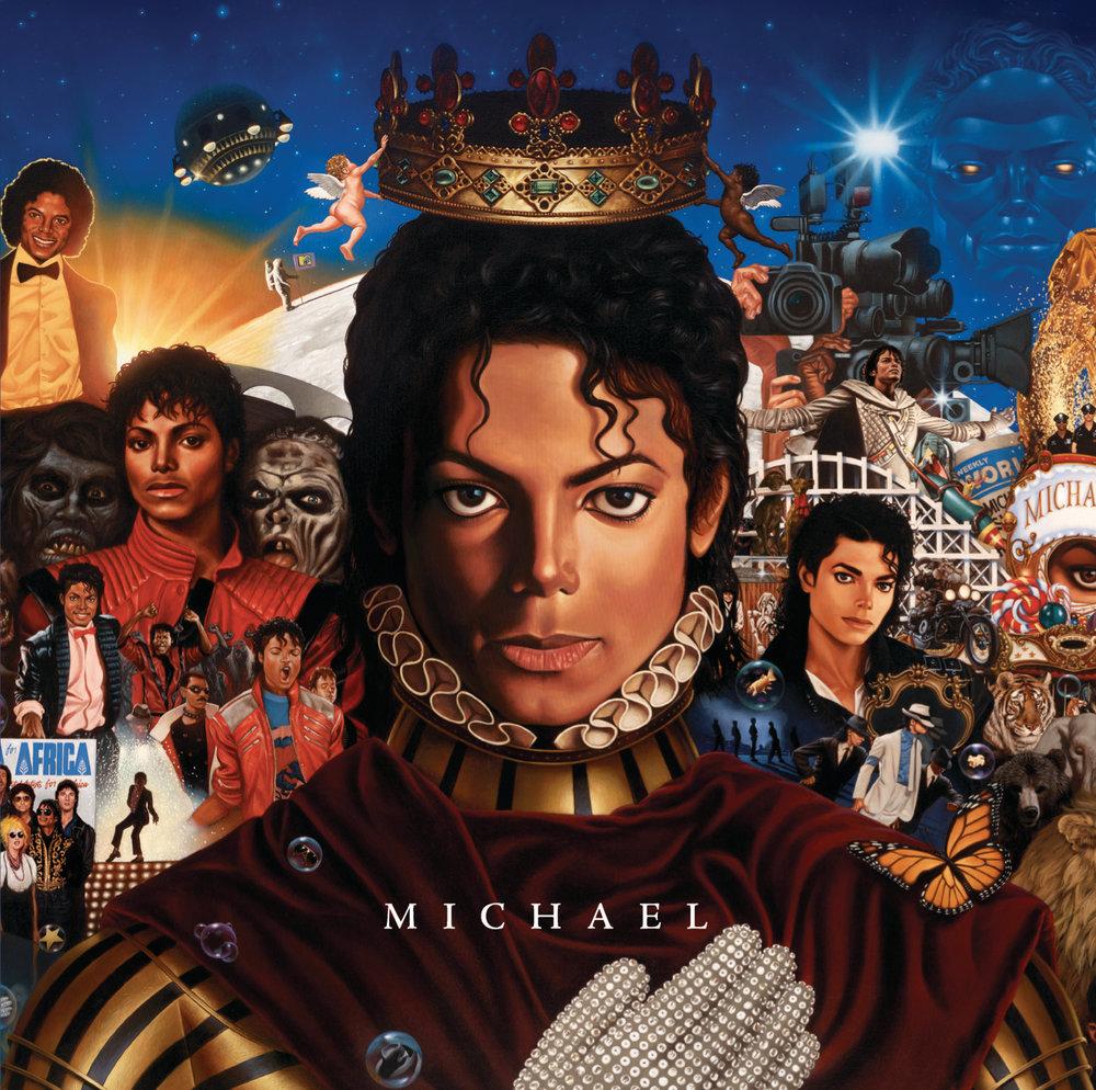 Обложка альбома «Michael»