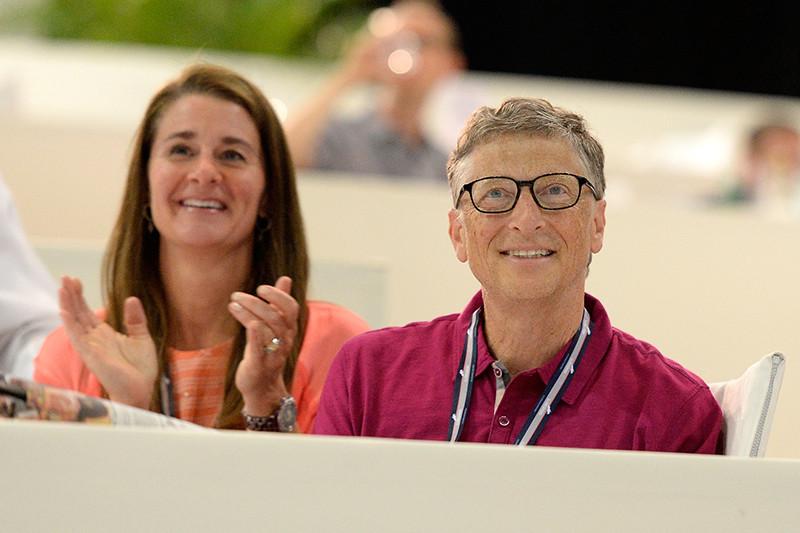 Дженнифер Гейтс и Билл Гейтс