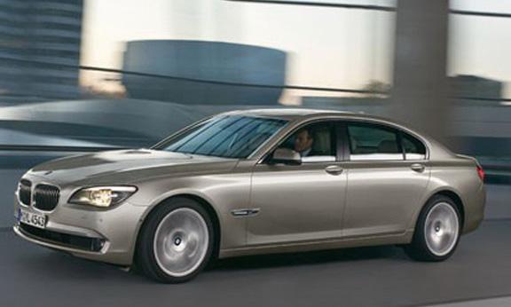 Первые фотографии новой BMW 7 серии