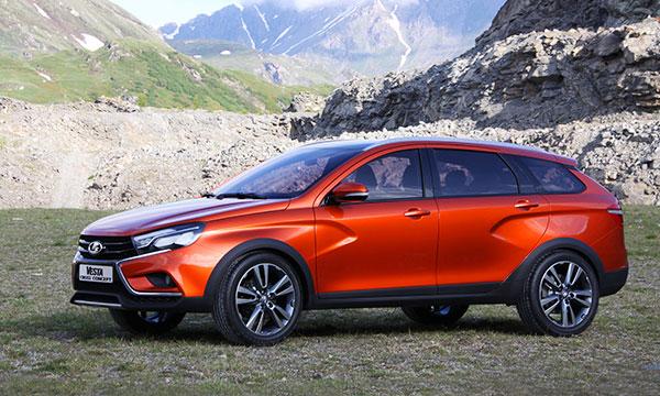 АвтоВАЗ представил вседорожную Lada Vesta