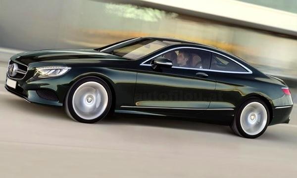 Mercedes-Benz S-Class Coupe рассекретили в сети