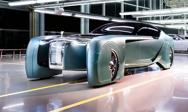 Rolls-Royce представил полностью беспилотный автомобиль