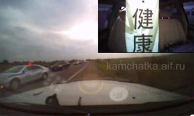 На Камчатке кортеж Медведева устроил  аварию