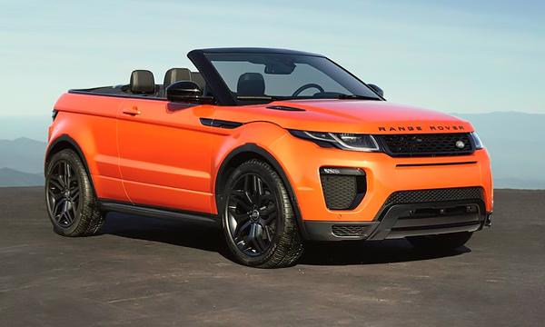 Land Rover представил кабриолет Range Rover Evoque