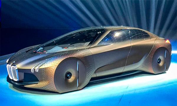 Компания BMW представила автономный концепт Vision Next 100