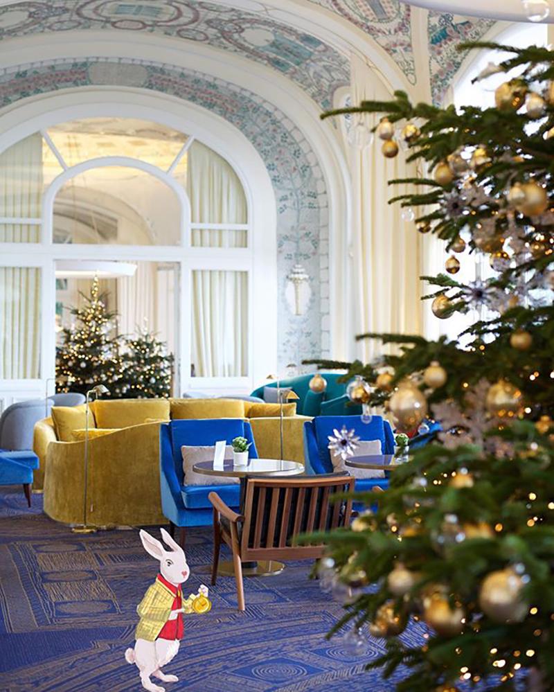 Гостиная отеля Hotel Royal