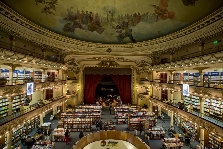 Книжный магазин El Ateneo Grand Splendid, Буэнос-Айрес