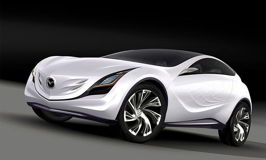 Mazda представила  концепт-кар Kazamai