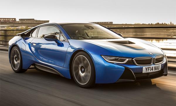 Гибридный суперкар BMW i9 представят через два года