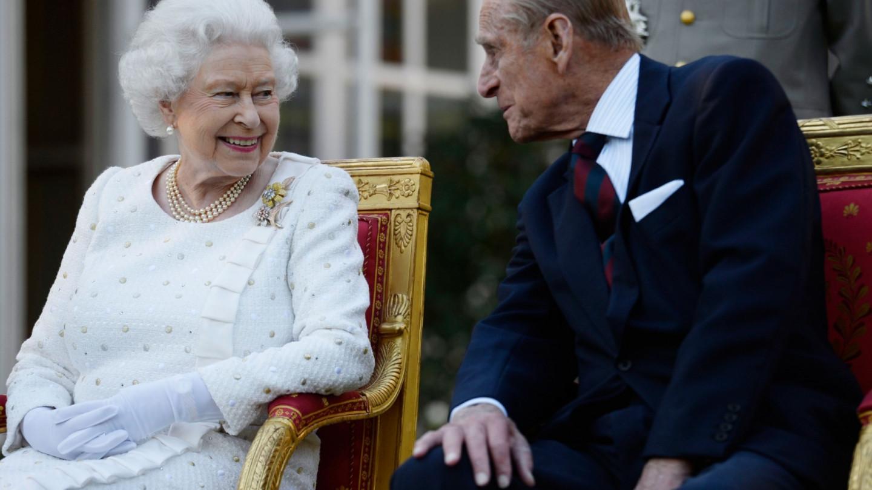 Королева Великобритании Елизавета II и принц Филипп, герцог Эдинбургский
