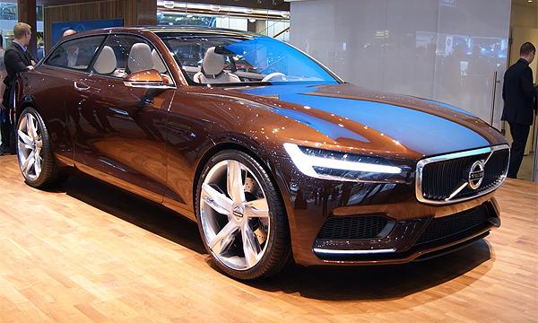 Volvo представила концепцию нового дизайна своих автомобилей