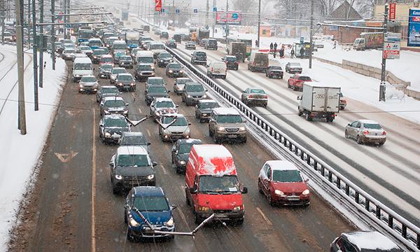 «Яндекс» рассказал, когда в Москве будут пробки 10 баллов