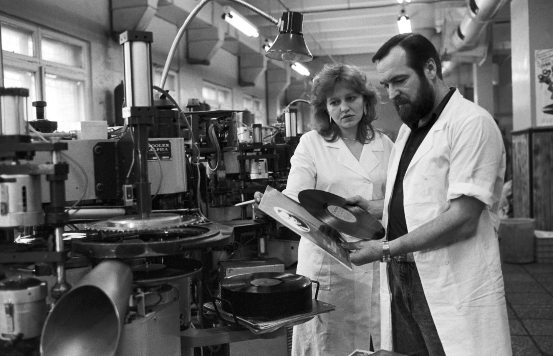 Фирма «Мелодия».Московский опытный завод «Грамзапись», 1988